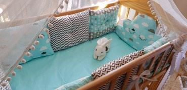 Бортики,на детскую кроватку. в Бишкек