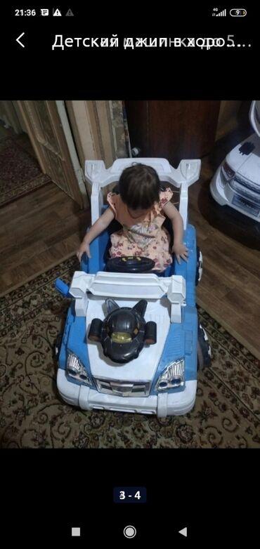 купить хайлендер в бишкеке in Кыргызстан | НОВОСТРОЙКИ ОТ ЗАСТРОЙЩИКА: Детская машинка состояние нормальное рабочая ( без пульта ребенок сам