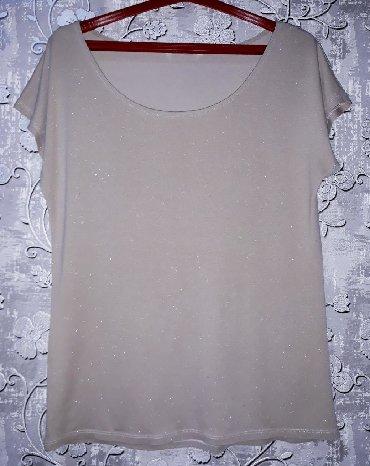 женская рубашка размер м в Кыргызстан: Кофточка с люрексом женская.Размер: М, наш 44.Качество и состояние
