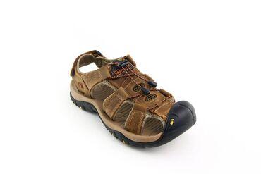 Мужские сандалии из натуральной кожи. С 39 по 46 размеры. Отличное