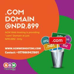Exclusive Offer on Domain Registration only @AGM_WEB_HOSTING. Book in Kathmandu