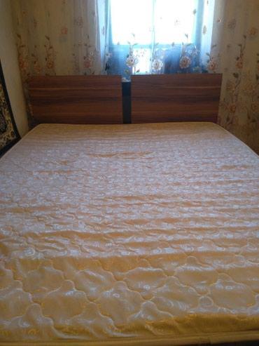 Двух спалный кровать сатылат арзан баада бу..матрасы мн в Бишкек