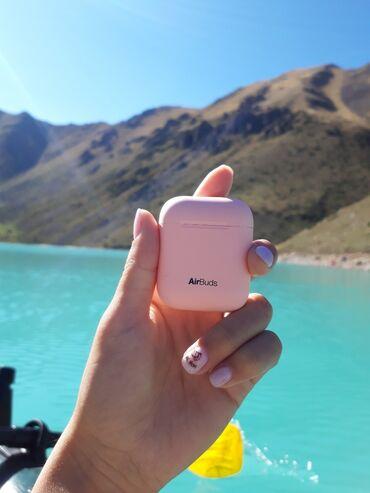 наушники для ipad в Кыргызстан: АкцияБеспроводные наушники AIRBUDS Доставим по всему Кыргызстану