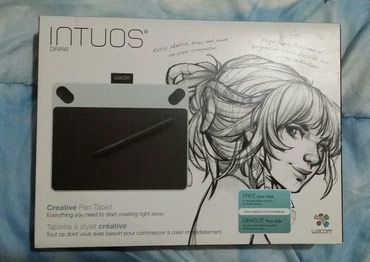 Wacom intuos draw (white) ελαφρώς μεταχειρισμένο σε Athens