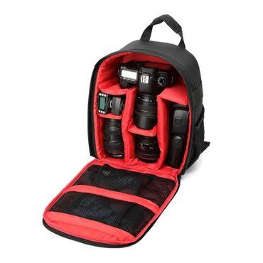 Сумки и чехлы - Кыргызстан: Сумка-рюкзак для фотоаппарата, нетбука и аксессуаров +БЕСПЛАТНАЯ