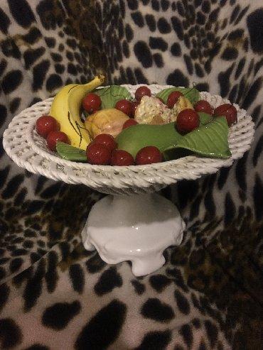вазы керамические в Азербайджан: Keramika )meyveler gabda,meyveler bitisigdi vazaya ve bir birine(