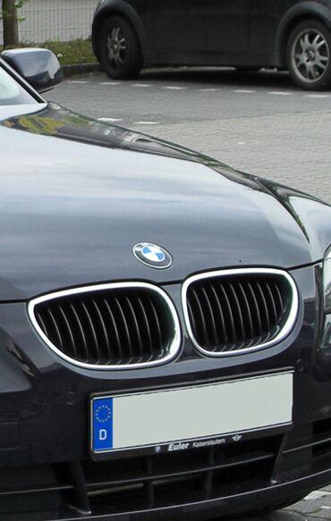 bmw-x6-m50d-servotronic - Azərbaycan: Bmw e60 radiator barmaqlığı