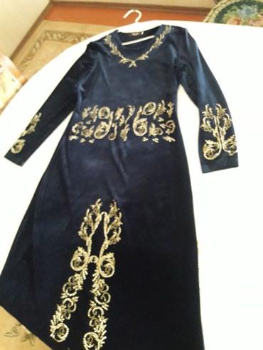 Платье размер 46-48. Темно синего цвета, в Бишкек