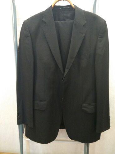 Продаю костюм двойка черный размер 50-52 рост 175 Но нужно мерить