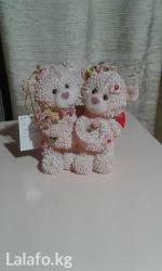 Сувенир для влюбленных-розовые мишки в Бишкек