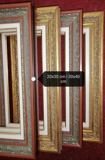 RAMOVI ZA SLIKE I IKONE-Povoljno standardne dimenzije drvenih ramova