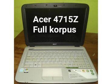 acer fiyatları - Azərbaycan: Acer 4715Z korpusuTam model: 4715Z - 2A1G12MiAcer 4715Z korpus, Acer