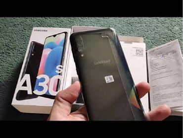 Mobilni telefoni - Novi Pazar: SAMSUNG GALAXY A30sprodajem koriscen telefon Samsung Galaxy A30s,crne