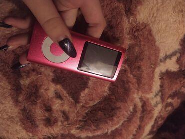 meizu зарядка в Азербайджан: Плеер. Розовый. В хорошем состоянии. Зарядка как у IPhone 4. USB в ком