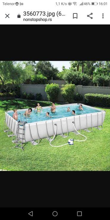 RASPRODAJA - bazeni sa metalnom konstrukcijom - vise različitih dimenz