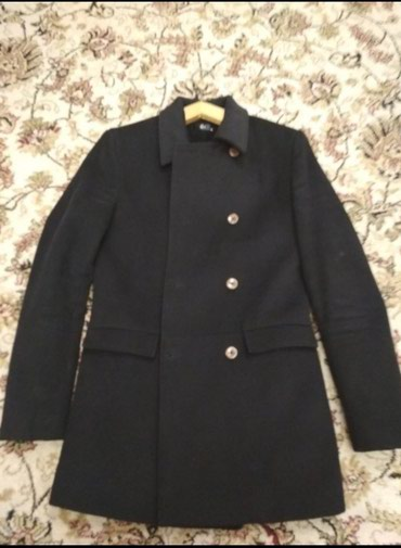Пальто черный размер М в Бишкек