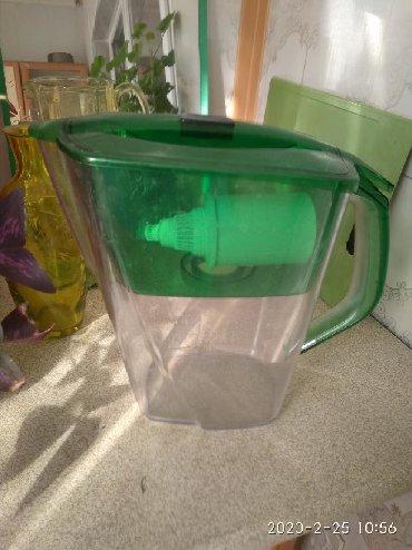 фильтры для очистки воды аквафор в Кыргызстан: Фильтр для воды,Барьер,небольшой скол,прочно заделанный