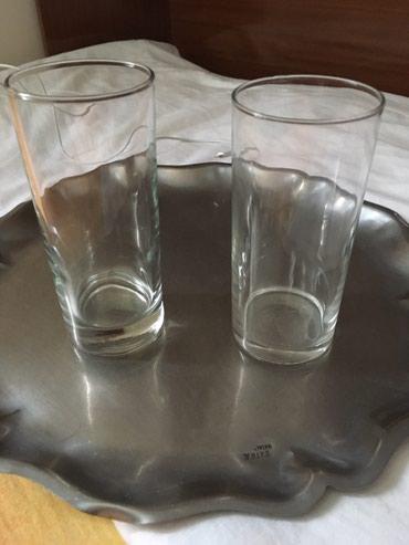 Čaše za vodu, obične za svakodnevnu upotrebu, kom. 18, dimenzije - Belgrade