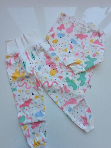 Пижама для девочки 100% хлопок на рост 100см (2-3 года)