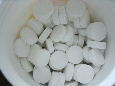 Хлорка,хлорные быстрорастворимые таблетки на основе натриевой соли дих