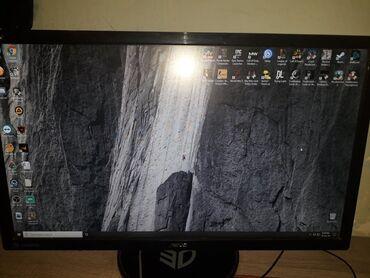 "ASUS 24"" VG248QE LED 3D crni monitor Odlican monitor bez mana koristim"