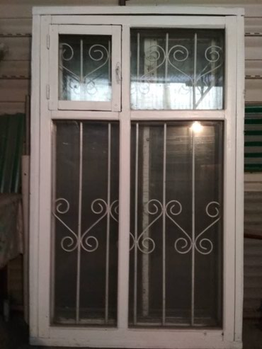Рама двойная с решеткой и со стеклом в Бишкек