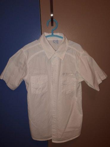 Белая рубашка, на 6-7 лет. Состояние и в Токмак