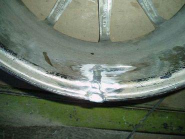 Ремонт литых дисков качество в Бишкек