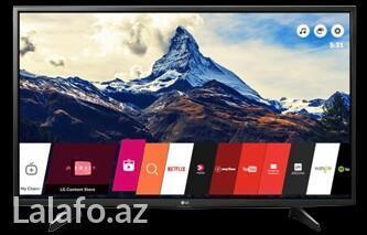 Bakı şəhərində Televizor lg 108 sm smart. Model 43 lj550v. Korea istehsali. Tezedir.