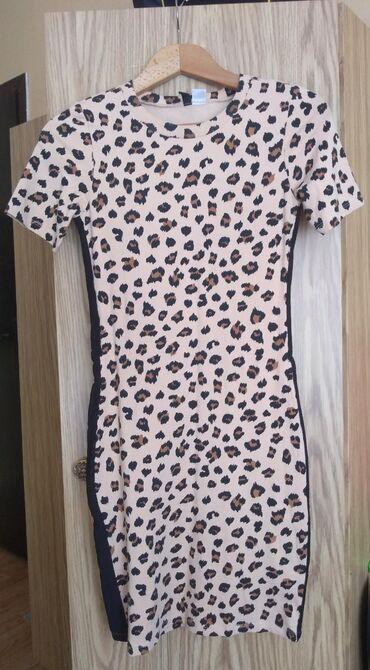Ženska odeća | Novi Pazar: Prelepa haljinica tunika H&MObučena svega dva puta95% pamukKrem