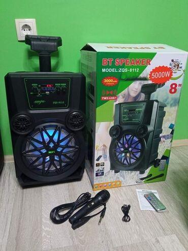 Tv smart - Srbija: Najveci Blutut Zvucnik Karaoke ZQS-8112 sa mikrofonom i daljinskim