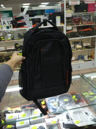 Рюкзак 1400сом.для ноутбука.в школу. в Бишкек