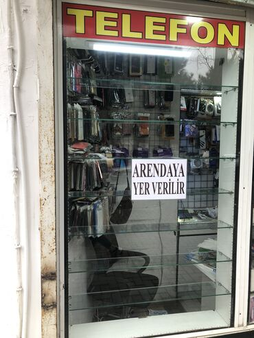 kaselok - Azərbaycan: Vitrin arendaya verilir,dukan ozu telefon dukani kimi
