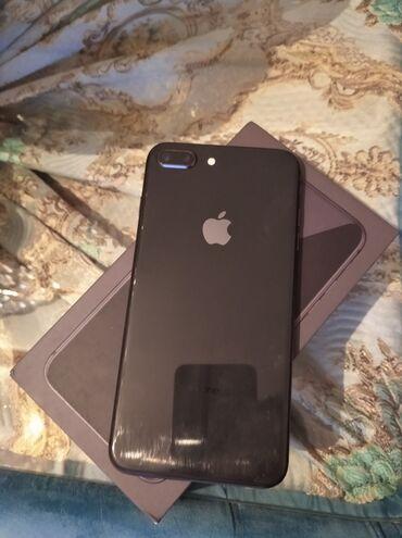 зарядка apple в Азербайджан: Б/У iPhone 8 Plus 64 ГБ Черный
