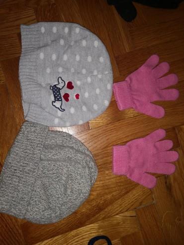 Komolet, dve kape i rukavice za 300 din - Crvenka