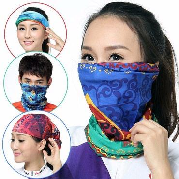 Маска лыжная.цветные шарфы .отлично в Бишкек