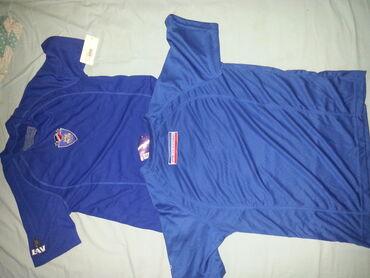 Два фудбалска дреса број Л (СРБИЈА И ЦРНА ГОРА)