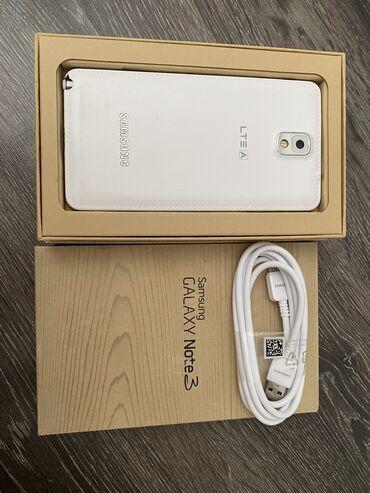 bdm club платья в Кыргызстан: Б/у Samsung Galaxy Note 3 64 ГБ Белый