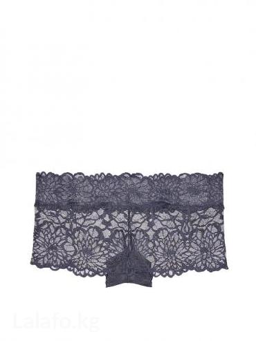 Victoria' s secret floral lace boyshort. размер s. цвет dark в Бишкек