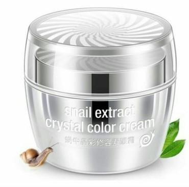 the snail cream в Кыргызстан: -50% скидка при покупке от 500 сом(с учетом скидки) Snail Extract Crys