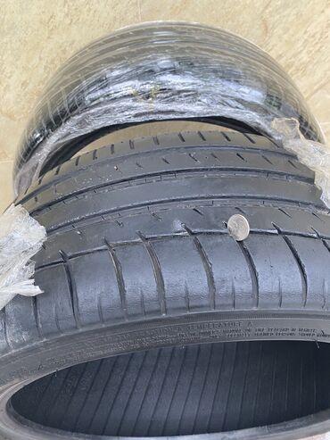 Продаю резину Triangle, протектор хороший, на одной шине есть недочёт