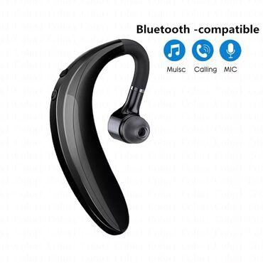 Спортивные Bluetooth-наушники с микрофоном, беспроводная гарнитура с