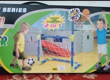 Nju jorkeru - Srbija: Sportski set 2u1 omogućava Vašem detetu da igra i fudbal i košarku