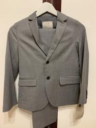 Пиджак школьный - Кыргызстан: Новый брючный костюм Zara ( Зара) пиджак брюки на 7-8 лет