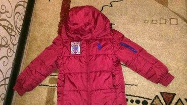 Красивая зимняя куртка б. у в отличном состоянии 7-10лет в Бишкек