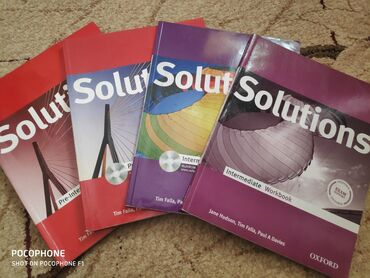 wexler book в Кыргызстан: Solutions Pre-Intermediate, Intermediate Student's Book, workbookВсе 4