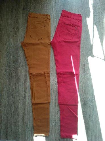 Продаю отличные джинсы на весну-лето. Цвет красный и горчичный. Размер
