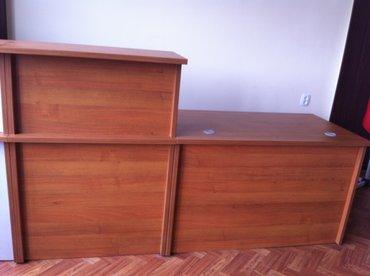 Продаю ресепшн стол новый заводского пр-ва, можно по отдельности в Бишкек