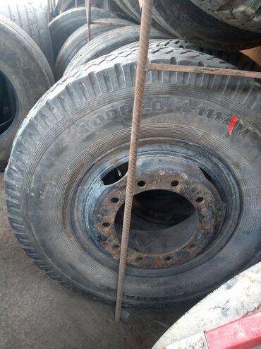 шины диски грузовые в Кыргызстан: Шина грузовой. на камаз с евро диском