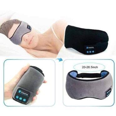 Elektronika - Ruma: Bluetooth maska za spavanje sa ugrađenim slušalicama i mikrofonomCena